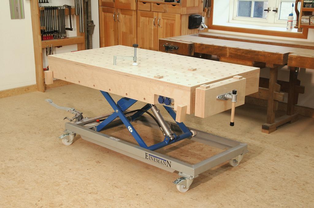 Montagetische Einemann Assembly Table Mt3